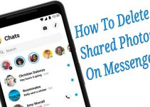 How to delete shared photos on Messenger