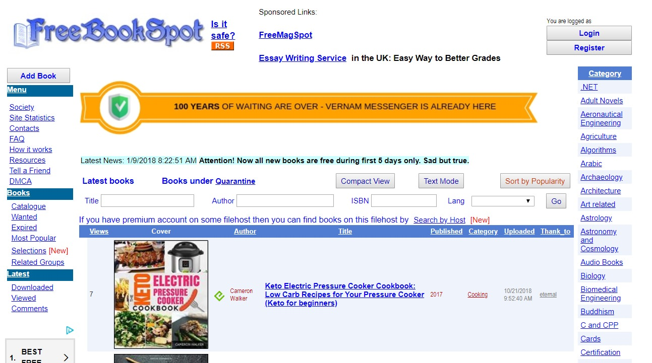 Book Alternatives