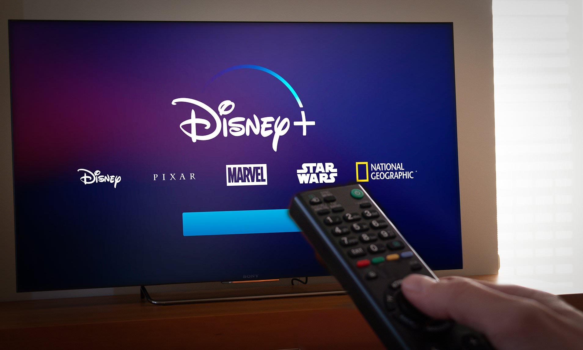 Disney Plus on Samsung TV