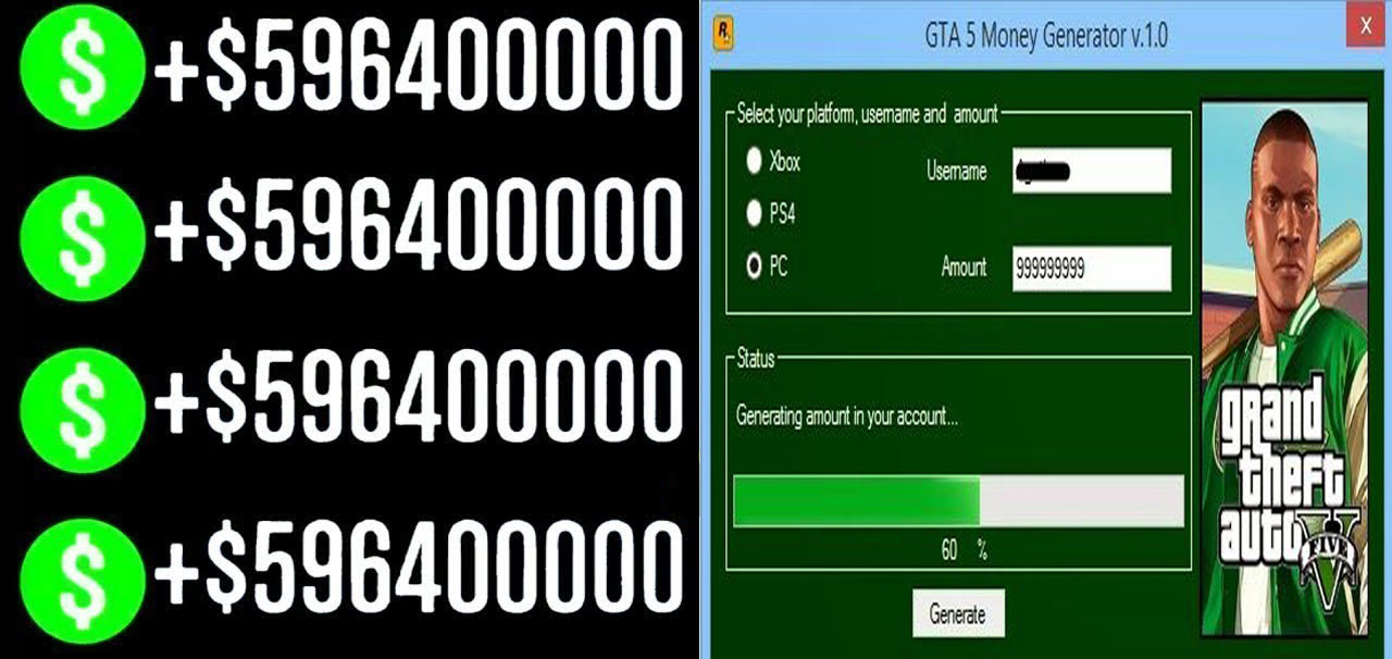 GTA 5 Money Generator